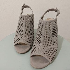 Kelly and Katie Cut-Out Peep-Toe Sandals